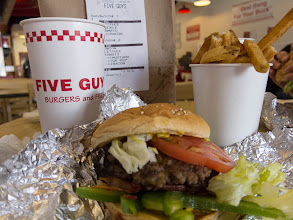 Photo: Day 78-Lunch at Five Guys