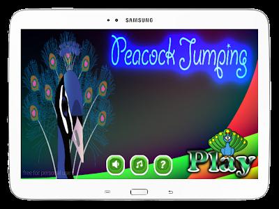 Peacock Jumping screenshot 8