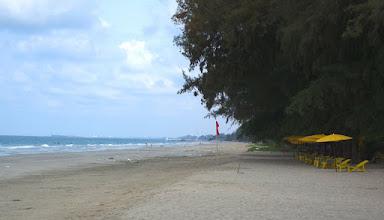Photo: Beach looking west