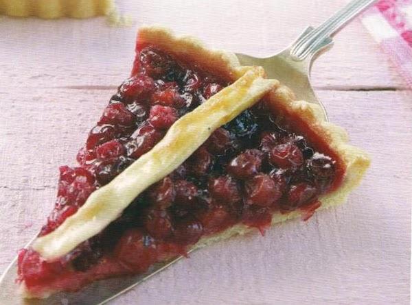 Traditional Cranberry Tart Recipe