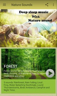 Sleep Sounds of Nature - náhled