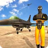 Spider Air Fighter - Superhero Warplanes Battle