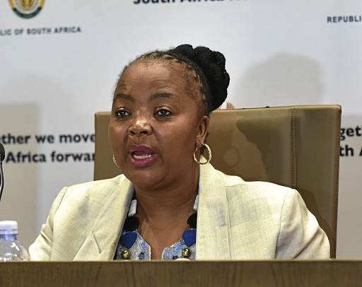 They will be checked: South African Social Security Agency CEO Pearl Bengu says in a report to the court that recipients will be biometrically verified before the card swap is done. Picture: GCIS