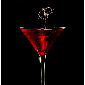 Cocktails by Brian Rogers - Abstract Water Drops & Splashes ( drips, still life, splash art, cocktail, splashes )