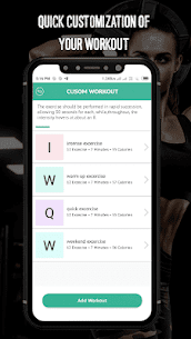 7 Minute Workout – Hipra Fitness App 5