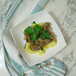Chicken Liver with Onion.