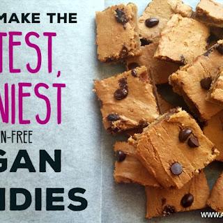 Vegan Blondies (Gluten-Free Chickpea Chocolate Chip Cookies)