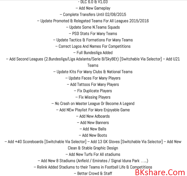 Download PES 2013 REBORN PATCH 2.0 Download PES 2013 REBORN PATCH 2.0 - Patch PES 2013 mới nhất