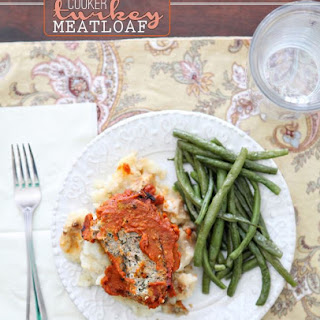 Slow Cooker Turkey Meatloaf.