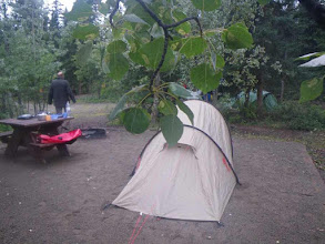 Photo: Der Robert Service Campground in Whitehorse