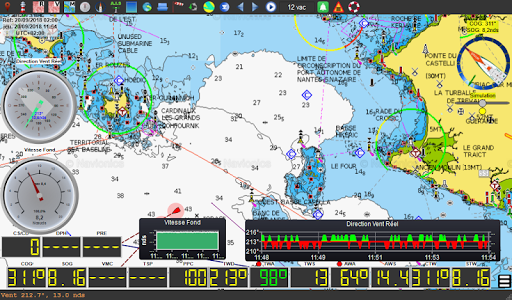 qtVlm Navigation and Weather Routing 5.9 screenshots 17