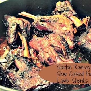 Gordon Ramsay's Fiery Lamb Shanks.
