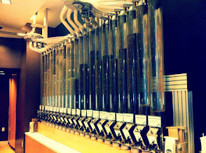 Photo: Pneumatic Tubes of Coffee Beans @ Roasting Plant Coffee