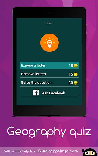 無料益智Appの地理クイズ|記事Game