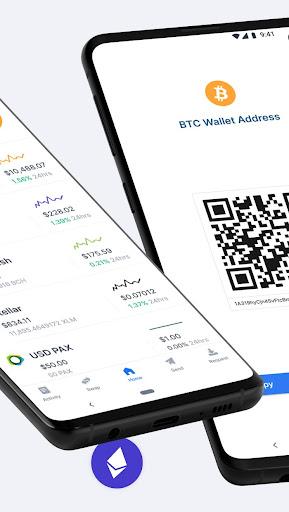 Blockchain Wallet. Bitcoin, Bitcoin Cash, Ethereum screenshots 2
