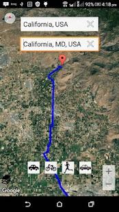 GPS Map Free - náhled