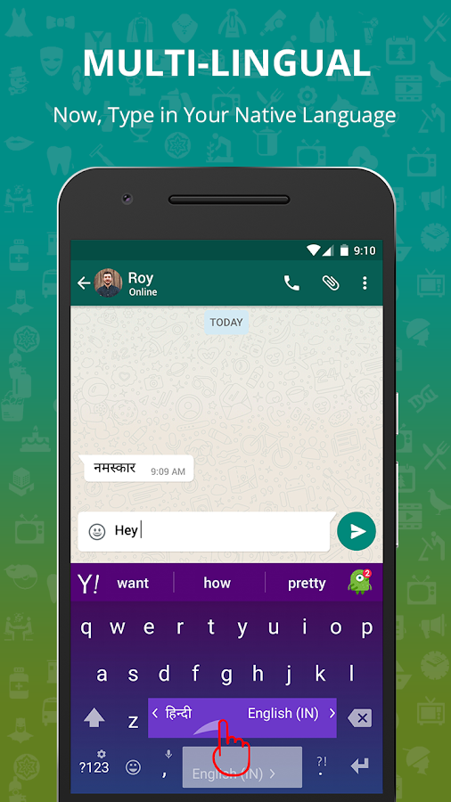 Xploree Keyboard- screenshot