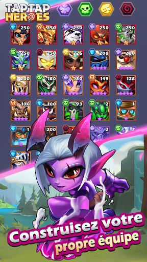 Code Triche Taptap Heroes APK MOD (Astuce) screenshots 1