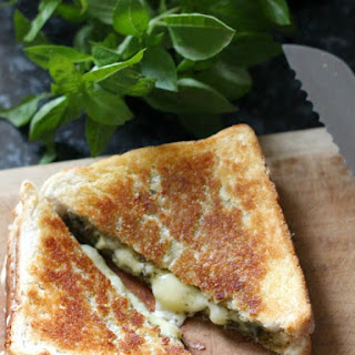 Grilled Cheese and Pesto Sandwich Recipe