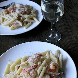 Margherita Shrimp Pasta