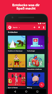 Meetup – Miniaturansicht des Screenshots