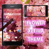Flower Theme Free for Xperia
