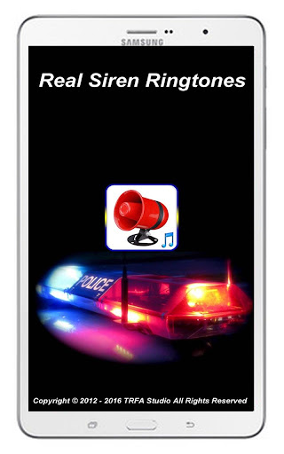 Real Siren Ringtones 1.2 screenshots 8