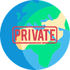 Private browser mode : inprivate browsing icon