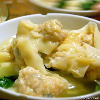 Hong Kong-Style Wonton Noodle Soup.