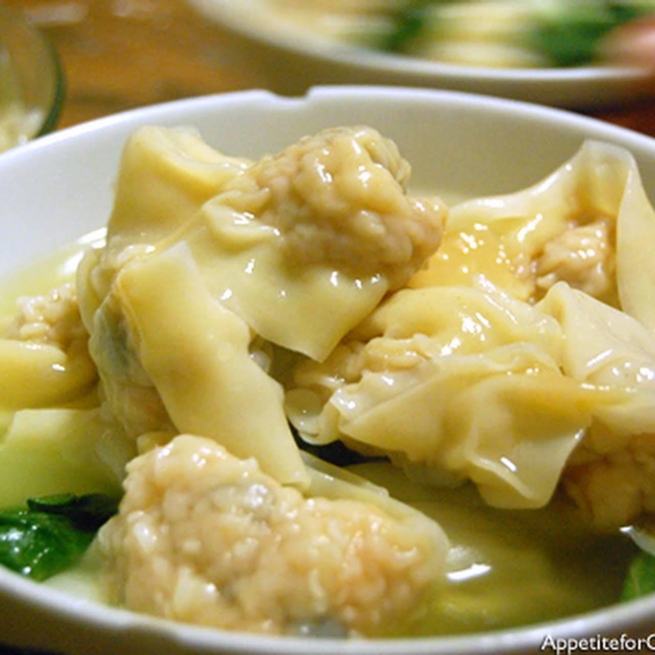 Hong Kong-Style Wonton Noodle Soup