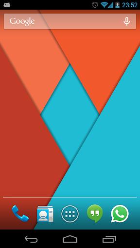 Material Design Live Wallpaper screenshots 3