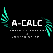 A-Calc taming calculator Pro: Ark Survival Evolved