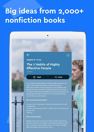 Blinkist - Nonfiction Books 5.5.4 screenshots 6