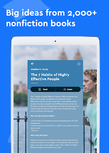 Blinkist - Nonfiction Books- screenshot thumbnail