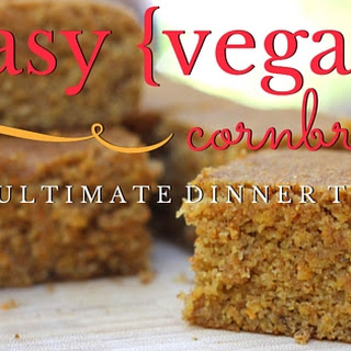 Easy {Vegan} Cornbread