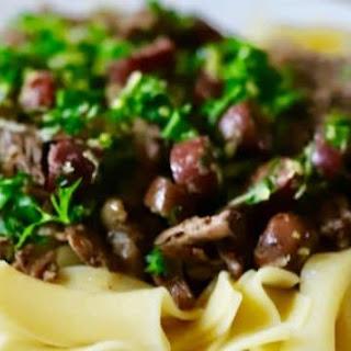 Slow Cooker Mediterranean Beef Roast.