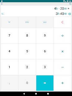 hours calculator for work