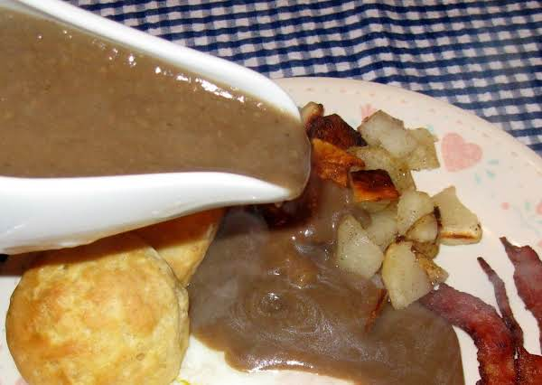 Pawpaw's Bacon Gravy Recipe