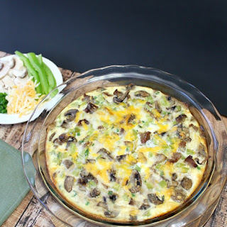 Sausage & Mushroom Quiche