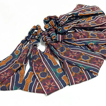 交叠髮帶(日本絲光棉布)