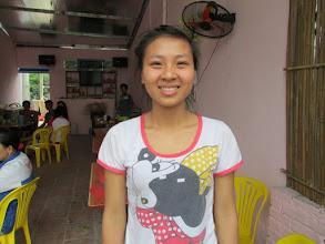 """Photo: """"Ms.Nguyễn Thị Khiết 1. Số hiệu(ID member): 15042044 2. Tuổi(Age): 25 3. Địa chỉ(Address): Cụm 30 - Thôn Liên Bình - TT Hợp Hòa,Tam Duong District, Vinh Phuc province, Vietnam. 4. Thông tin gia đình: Gia đình(Household's information): Tv có 03 khẩu, 02 lao động chính, , TV làm công ty chồng bán hàng bia (Member's family has 03 people, 02 main labors, member works for a company, her husband sells beer) 5. Ngày vay(Date of loan): 23-04-2015 6. Mức vay(Loan size): 8.000.000đ 7. Mục đích vay(Loan purpose): Chăn nuôi/livestock farming"""""""