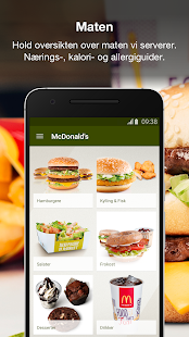 McDonald's Norge- screenshot thumbnail