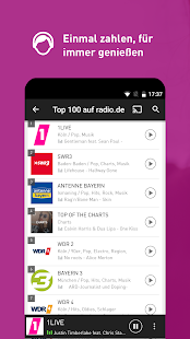 radio.de PRIME Screenshot