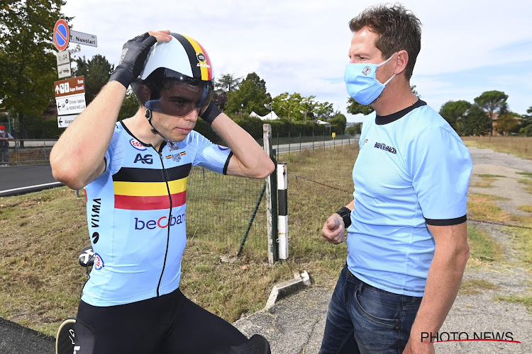 """Ondanks enkele nadelen wil Van Aert het beste maken van WK tijdrijden: """"Niet achterstevoren op de fiets"""""""