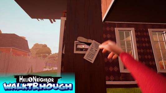 Walktrough for Neighbor Hide and Seek Game 1 0 + (AdFree