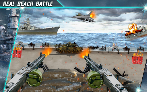 Call of Beach Defense: FPS Free Fun 3D Games apktram screenshots 1