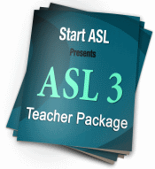 ASL 3 Teacher Package