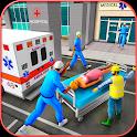 City Ambulance Rescue Simulator Games 🚑 🚁 icon