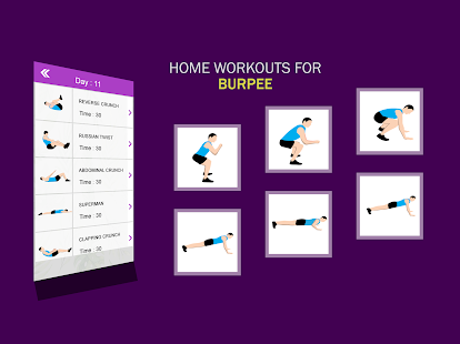 Home Workouts : GYM Body building 9