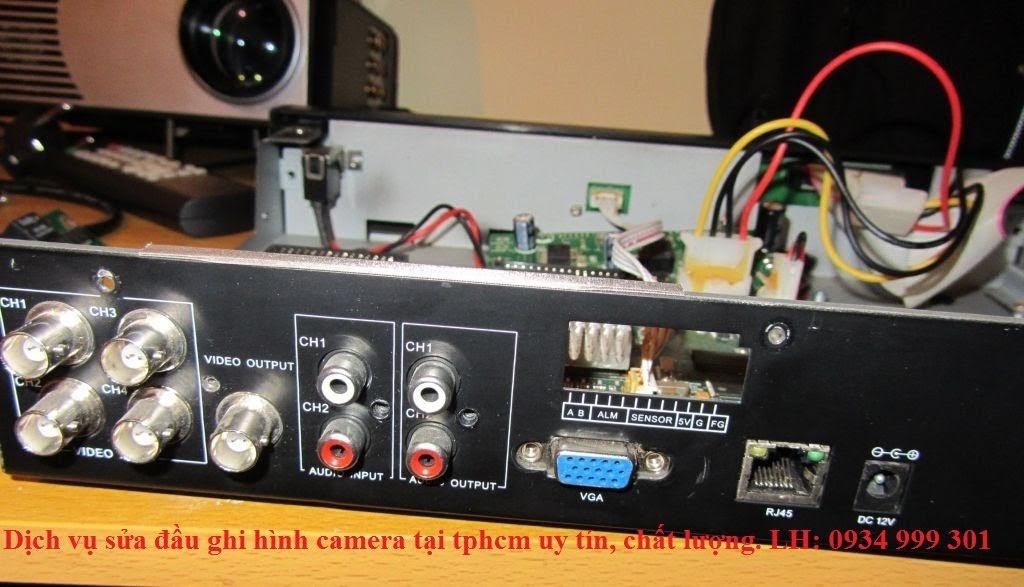 sửa đầu ghi camera tại tphcm